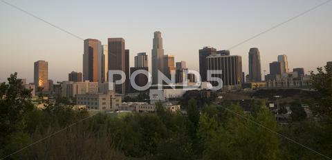 Stock photo of los angeles horizontal