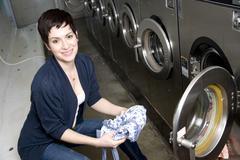 laundry day - stock photo