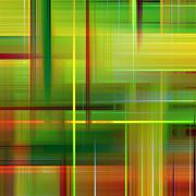 Green and orange vibrant colors abstract pattern background. Stock Illustration