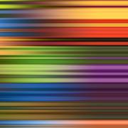 Multicolored stripes abstract background. Stock Illustration