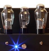Vacuum tube amplifier Stock Photos