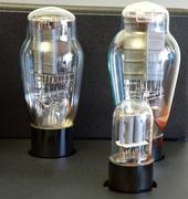 Stock Photo of vacuum tube amplifier