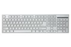 Modern computer keyboard Stock Photos