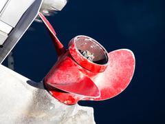 Boat propeller Stock Photos