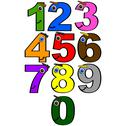 Stock Illustration of happy numbers