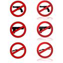 Stock Illustration of no guns allowed