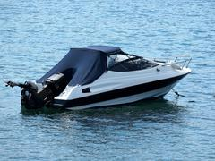 speed boat - stock photo