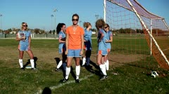 Dancing, Soccer Players, Females, Girls Team, Women Stock Footage