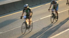 2012 whistler gran fondo road bike race Stock Footage