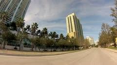Alton Road Miami Beach 1 Stock Footage