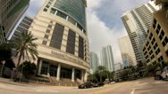 Stock Video Footage of Brickell Avenue