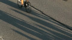 2012 whistler gran fondo road bike race Stock Footage