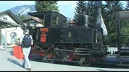 Narrow Gauge Cogwheel Railway Achenseebahn Stock Footage