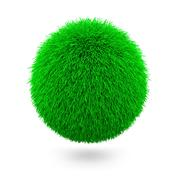 Green Sphere Stock Illustration