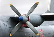 Propeller turboprop Stock Photos