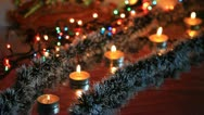 A dynamic new year's decorations, Christmas Stock Footage