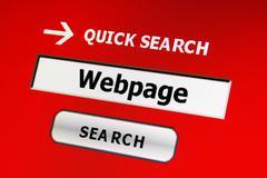 Webpage Stock Photos