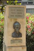 Monument honouring Jose Marti. - stock photo