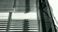 People and stairs 3 Stock Footage
