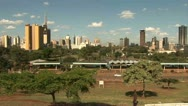 Stock Video Footage of Skyline Buildings, Nairobi  - Kenya