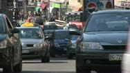 Stock Video Footage of Cars, Traffic, Belgrade  - Serbia