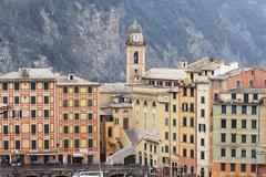 camogli, italy - stock photo