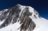 Stock Photo of mont blanc massif