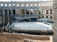 Arena pula Stock Photos