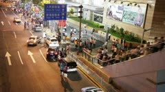 Shanghai Taxi Stand (HD) - stock footage