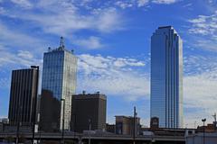 Dallas Skyline Kuvituskuvat