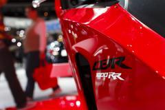 Honda CBR 1000 RR - 2012 Los Angeles Auto Show Stock Photos