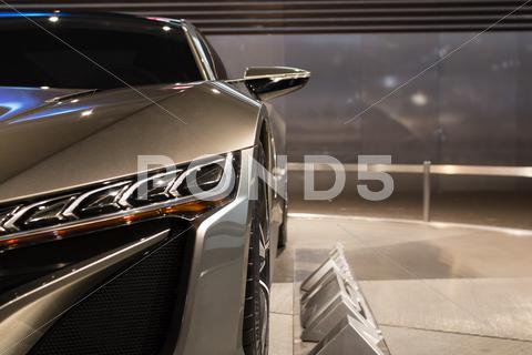Stock photo of Acura NSX Concept - 2012 Los Angeles Auto Show