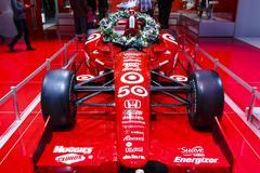 Honda Indy Car - 2012 Los Angeles Auto Show Stock Photos