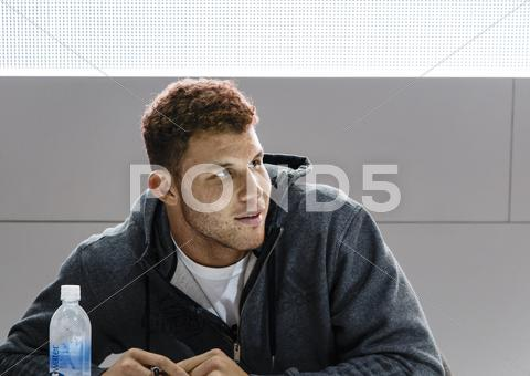 Stock photo of Los Angeles Clippers forward Blake Griffin