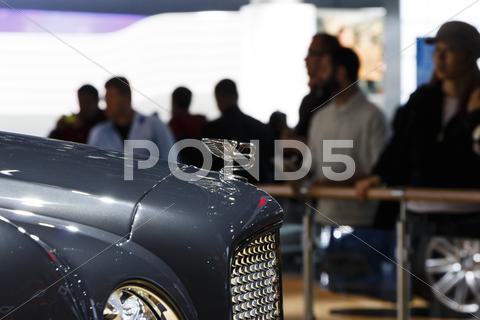Stock photo of 2012 Los Angeles Auto Show