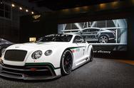 Bentley GT3 - 2012 Los Angeles Auto Show Stock Photos