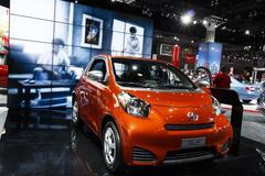 Scion iQ - 2012 Los Angeles Auto Show Stock Photos