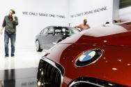 BMW Display - 2012 Los Angeles Auto Show Stock Photos