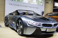 BMW i8 - 2012 Los Angeles Auto Show Stock Photos