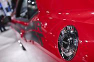 Dodge Charger R/T Fuel Cap - 2011 Los Angeles Auto Show Stock Photos