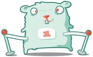 Stock Illustration of Hamster champ
