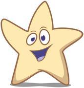 Stock Illustration of Star waving hello