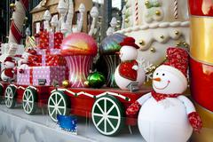 Large luxury christmas decoration Stock Photos