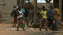 Market, Mozambique Stock Footage