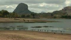 Landscape, Mozambique Stock Footage