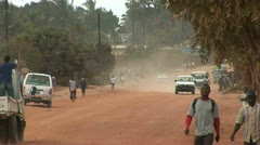 Road, Mozambique Stock Footage