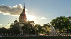 Stock Video Footage of Blagoveshenskiy cathedral