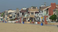 Newport Beach, CA neighborhood Stock Footage
