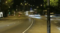Timelapse of The Marylebone Flyover London Stock Footage