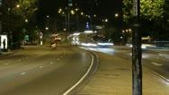 Timelapse of The Marylebone Flyover London Stock Footage